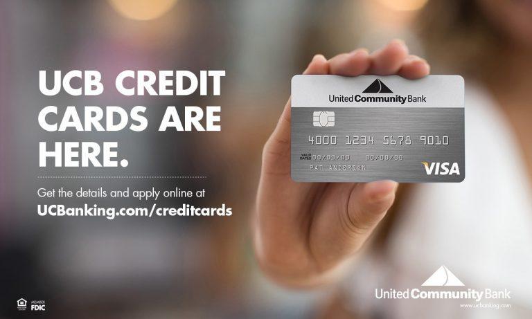 credit cards united community bank - United Visa Credit Card